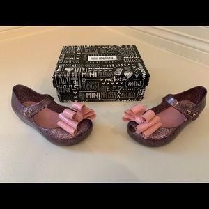 Toddler mini Melissa shoes